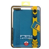 BASEUS Faith Leather Case for Apple iPad Air [LTAPIPAD5-XY03] - Blue - Casing Tablet / Case